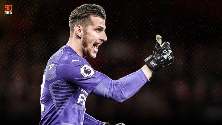 Newcastle Utd goalkeeper Martin Dubravka