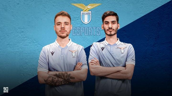 Thomas Saiani e Fabio Marino, i pro player della Lazio eSports