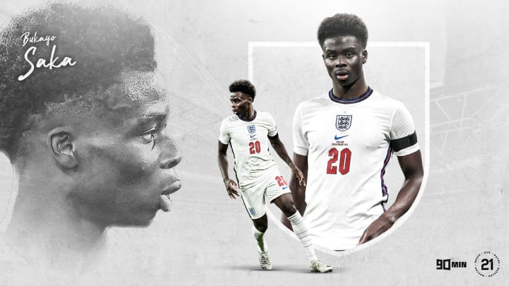 90min's Our 21: Arsenal and England's Bukayo Saka