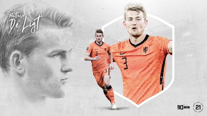 90min's Our 21: Juventus and the Netherlands' Matthijs de Ligt