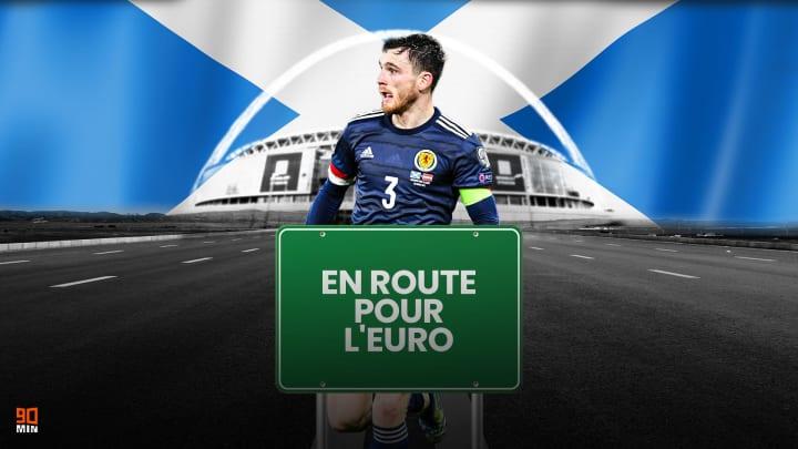 L'Écosse de la star de Liverpool Andy Robertson.