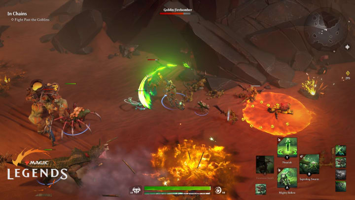 Magic: Legends aims to bring the godlike powers of Magic: The Gathering to an action MMORPG audience.