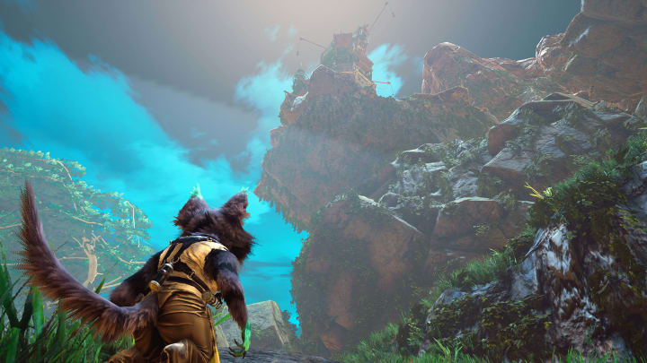Biomutant players will need to upgrade their crowbar in order to uncover more caches in the world.