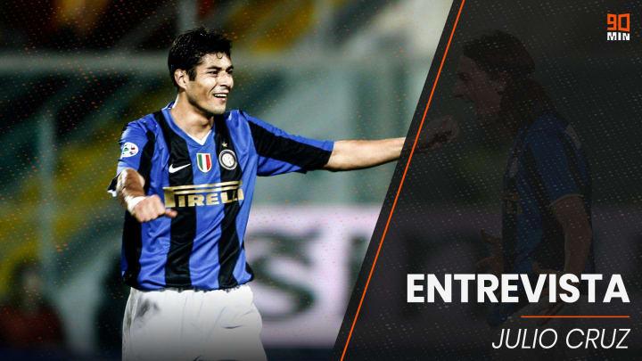 Entrevista a Julio Cruz, ex jugador del Inter y de la selección argentina