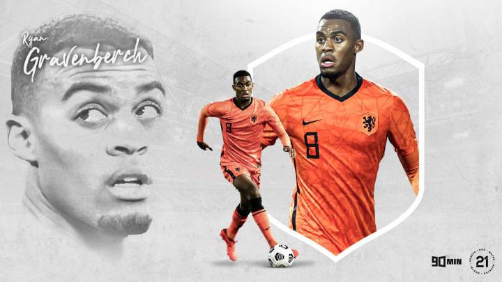 Ryan Gravenberch will mit der Niederlande beeindrucken