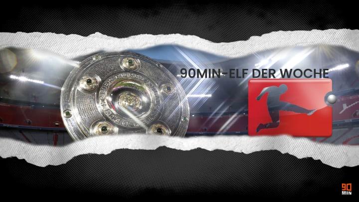 Die 90min-Topelf von Bundesliga-Spieltag 26