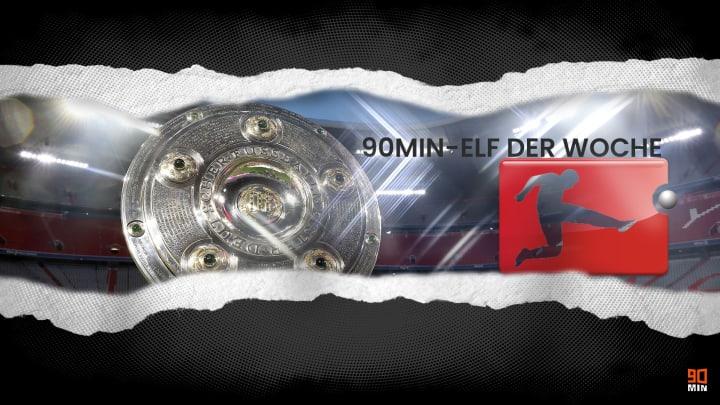 Die 90min-Topelf vom 25. Spieltag