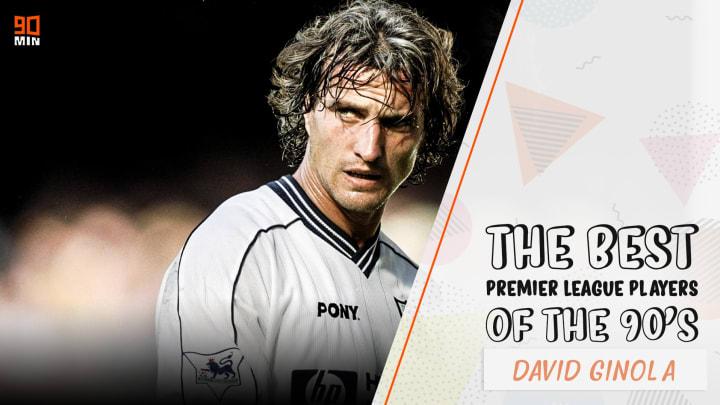 David Ginola signs for Tottenham Hotspur 1997