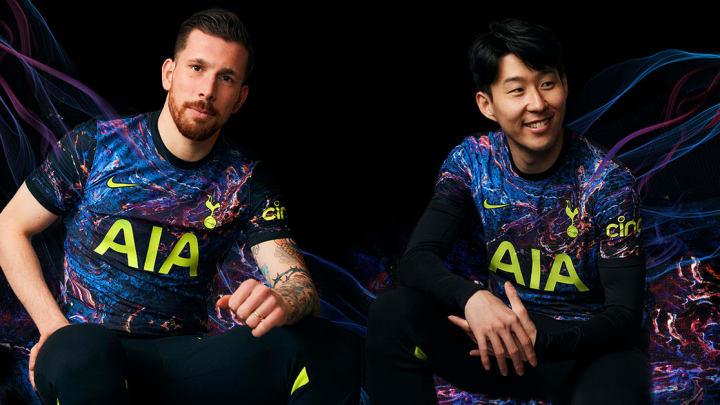Tottenham's new away kit is here