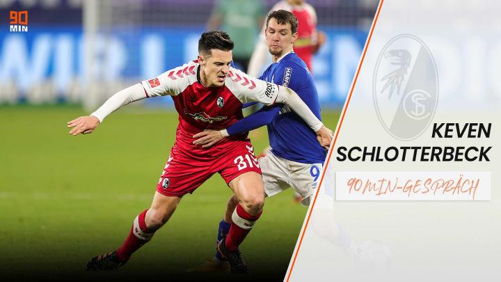 Keven Schlotterbeck startet beim SC Freiburg durch