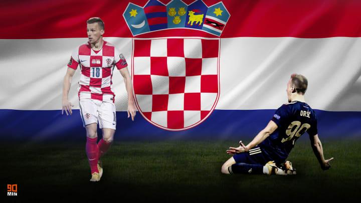 Mislav Orsic a honoré 8 sélections avec la Croatie.