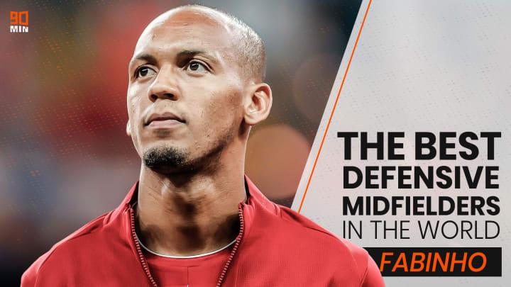 Fabinho is one of the best defensive midfielders in the world