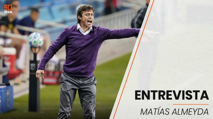 Matías Almeyda, director de San José Earthquakes, recomendó a Messi ir a jugar a la MLS