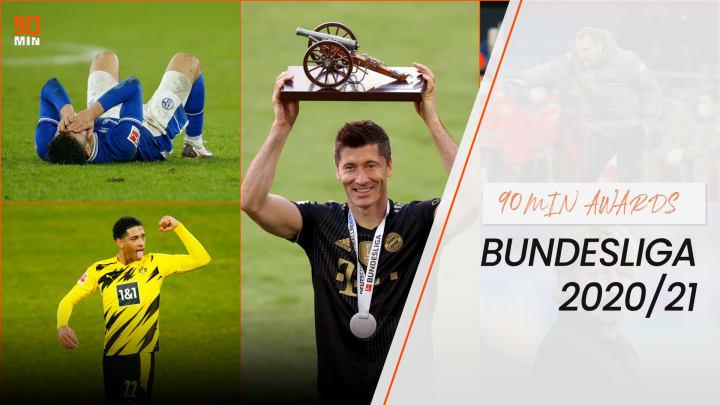 Die 90min-Awards der Bundesliga-Saison 2020/21