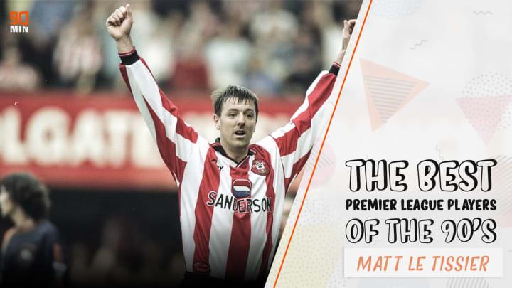 Southampton legend Matt Le Tissier