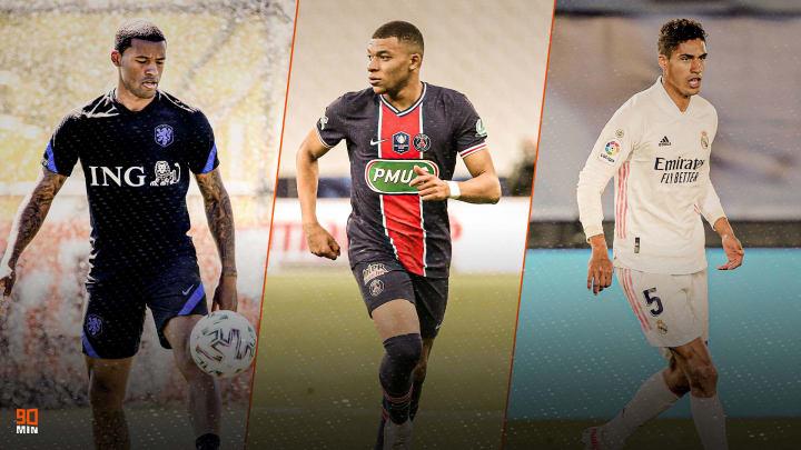 Wijnaldum, Mbappé y Varane