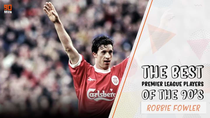 Robbie Fowler is the seventh highest scorer in Premier League history