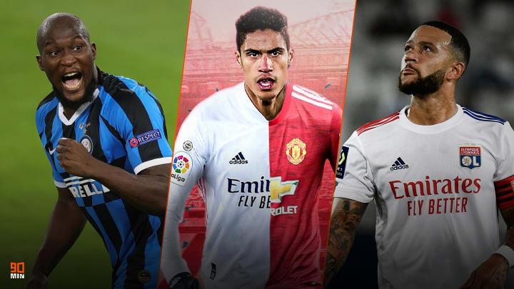 Lukaku, Varane et Depay font l'actu mercato