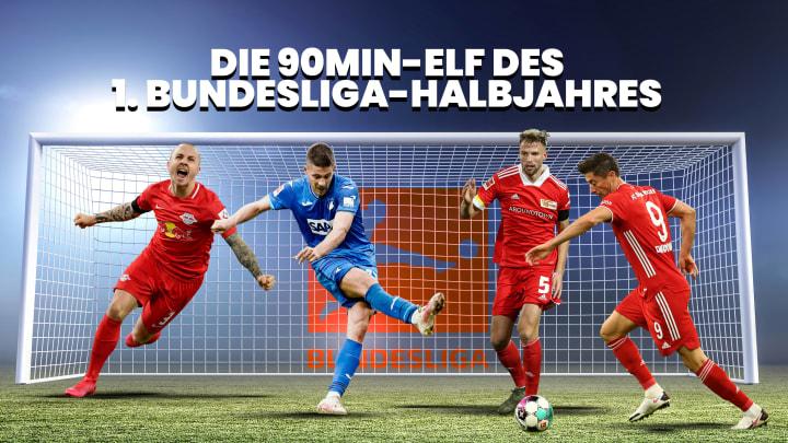 Dreimal FCB, zweimal Union Berlin plus Sechs: Die Bundesliga-Elf des ersten Halbjahres