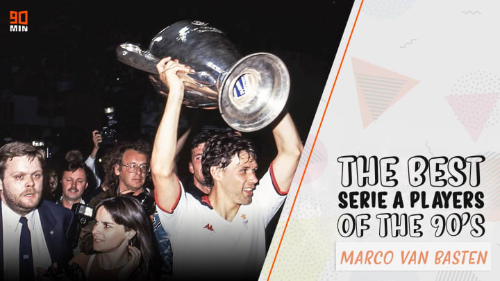 Van Basten is one of the greatest goalscorers of all time