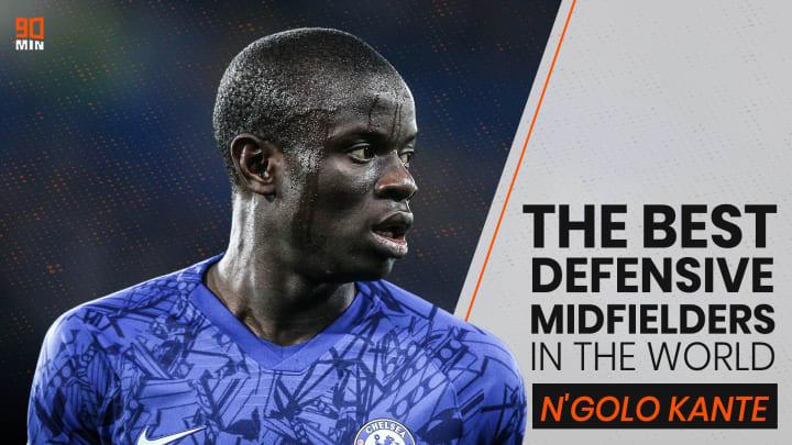N'Golo Kante burst onto the Premier League scene.