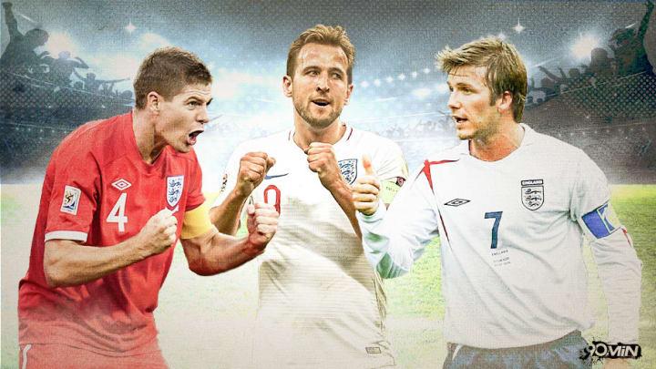 Englands Topteam zwischen 2000 und 2020