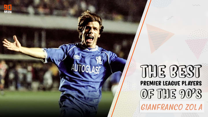 Zola is one of best players to ever play for Chelsea