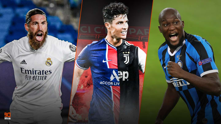 Sergio Ramos, Cristiano et Lukaku font l'actu mercato