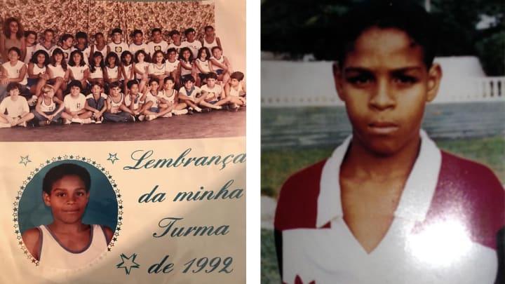 Adriano Imperador base Flamengo