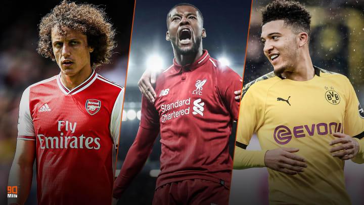 David Luiz vers l'OM? Wijnaldum est parisien ! Jadon Sancho est d'accord avec Manchester United.