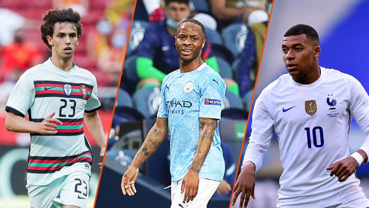 Felix, Sterling und Mbappé sind drei der besten Außenstürmer der EM