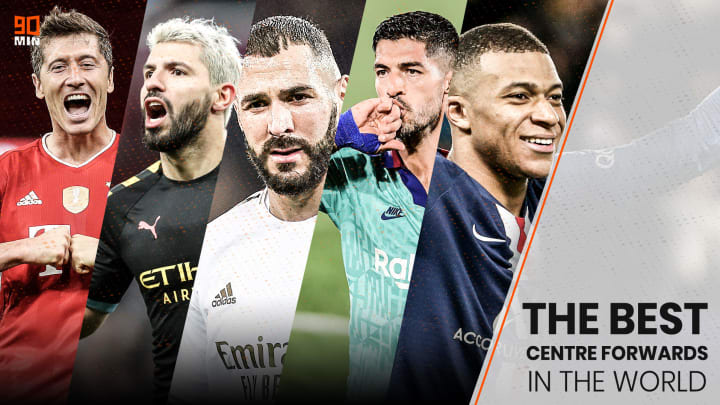 90min ranks the 5 best centre-forwards in the world