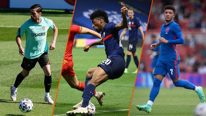 Zwei der drei besten Rechtsaußen der EM kicken in der Bundesliga