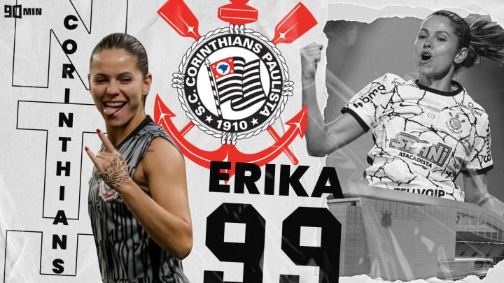 Zagueira Erika é um dos pilares do Corinthians Feminino