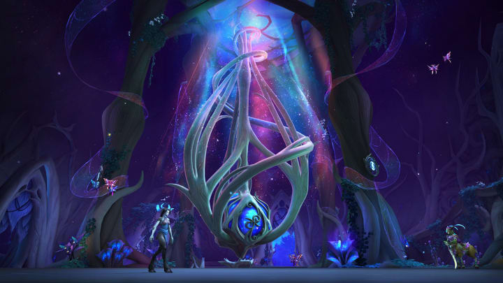 The Decayed Husk in WoW: Shadowlands is yet another type of treasure players can find hidden within the realm of Ardenweald.