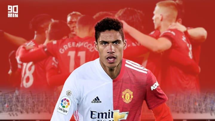Raphaël Varane peut nourrir de grandes ambitions à Manchester United.