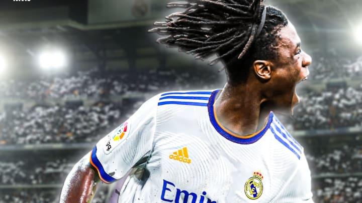 Eduardo Camavinga a choisi son numéro avec le Real Madrid.