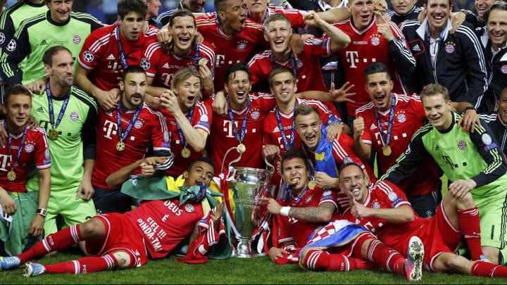 Bayern Munich từng lên đỉnh 5 lần ở Champions League