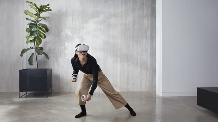 The Oculus Quest 2 is now available for preorder.