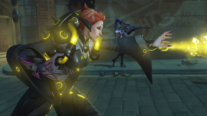 Moira received a healing buff