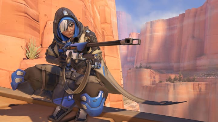 Ana is the first hero to receive a skin from rewards in this year's event