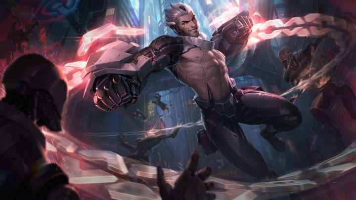League of Legends patch 11.11 adds new PROJECT skins