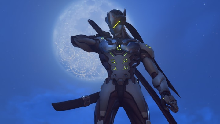 Genji went through major changes over the course of his design.
