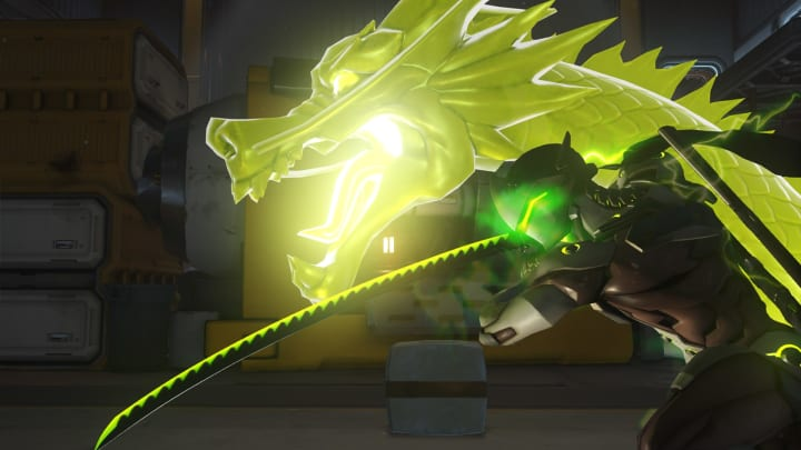 Genji is among the B-tier heroes for January 2021