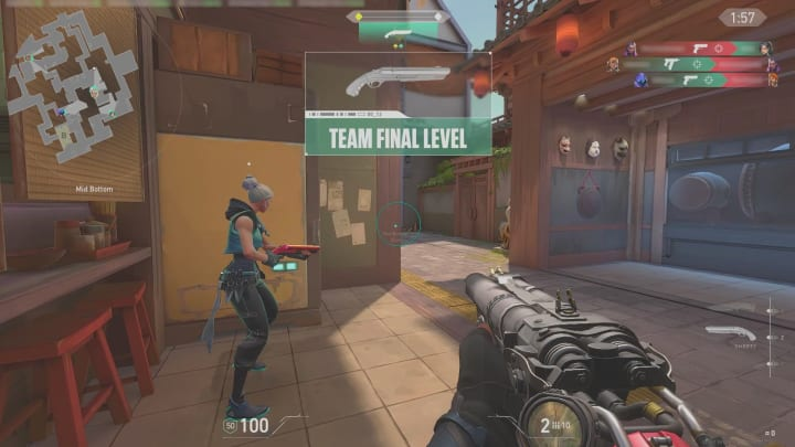 In Escalation, there's a team level, as well as a player's individual level.