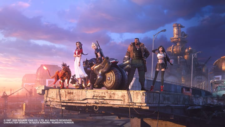 The VII best characters in Final Fantasy®VII Remake.