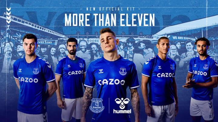 Everton 2020/21 Jersey