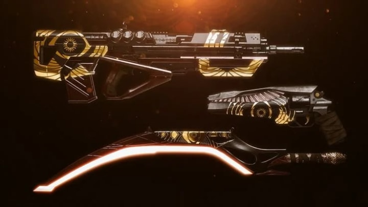 Along with new armor sets, new weapons have been added.