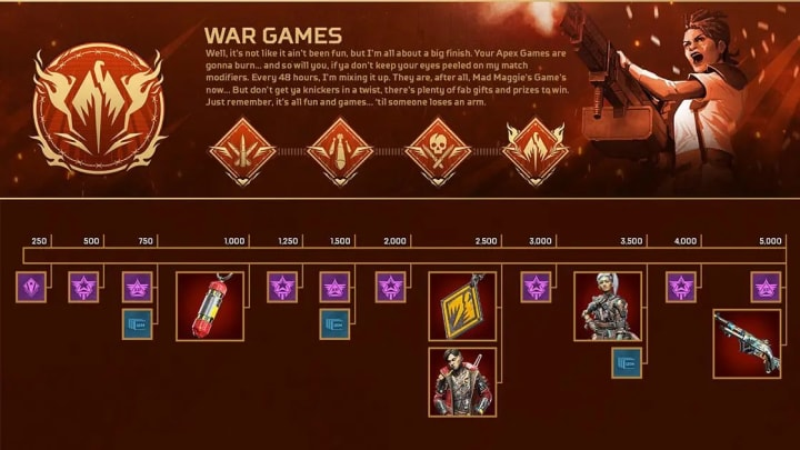 War Games is the finale event of Apex Legends Season 8