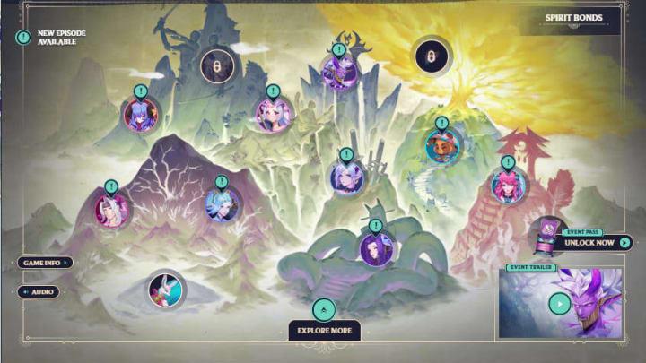 Strengthen spirit bonds to earn in-game rewards.